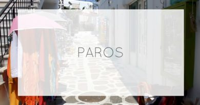 Paros – Videos from Greece
