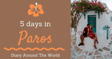 Diary Aroynd The Word: 5 days in Paros