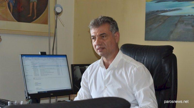 Ανοιχτή επιστολή Δημάρχου Πάρου Μάρκου Κωβαίου προς τους δημότες