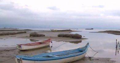 Υποχώρησε η θάλασσα από τον Θερμαϊκό ως την Κρήτη