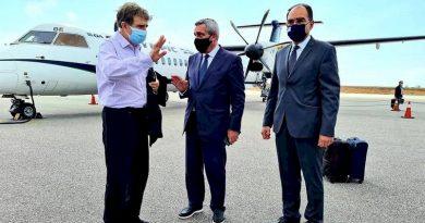 Στο νησί μας σήμερα ο Υπουργός Προστασίας του Πολίτη Μ.Χρυσοχοΐδη και ο Περιφερειάρχης Νοτίου Αιγαίου Γ.Χατζημάρκος