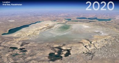 Google Earth: «Γυρίστε τον χρόνο» 37 χρόνια πίσω – Το Timelapse της κλιματικής αλλαγής