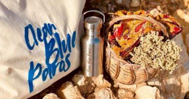 Το πρόγραμμα CleanBlueParos στηρίζει έμπρακτα τις επιχειρήσεις ώστε  να μειώσουν το πλαστικό