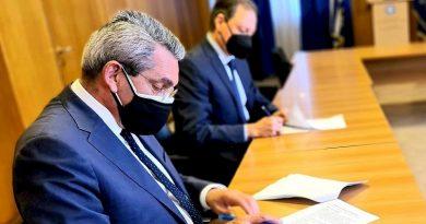 Υπογραφή Προγραμματικής Σύμβασης μεταξύ του Υπουργού Αγροτικής Ανάπτυξης και του Περιφερειάρχη