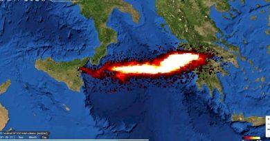 Αρναούτογλου: Διοξείδιο του Θείου πάνω από την Ελλάδα – Ζητούνται γνώμες ειδικών