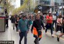 Μελβούρνη : Η αστυνομία πυροβόλησε με λαστιχένιες σφαίρες εναντίον διαδηλωτών κατά των εμβολίων